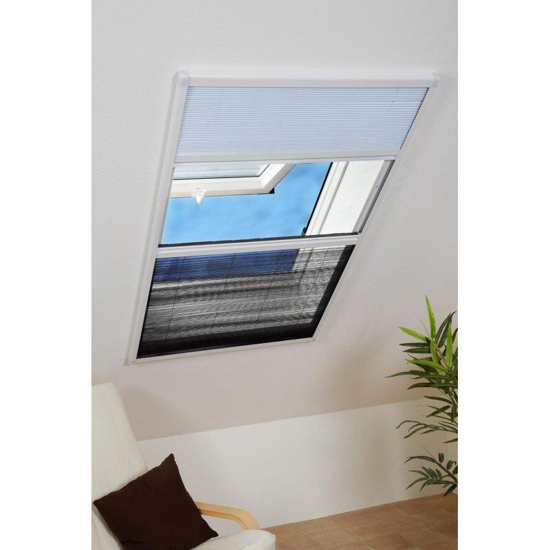 Relativ Kombi Dachfenster-Plissee - Sonnenschutz & Fliegengitter f&uu JK31