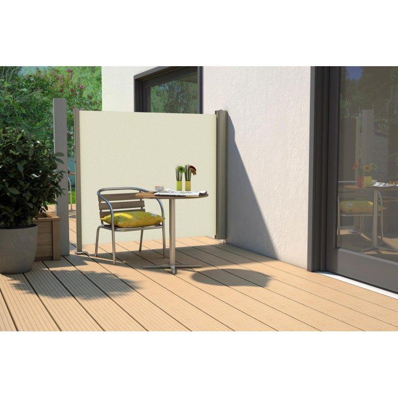 04380620170309 sichtschutz terrasse seitenmarkise. Black Bedroom Furniture Sets. Home Design Ideas