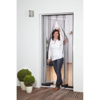 Fabulous Lamellenvorhang Fiberglas - Fliegengitter für Tür - 100 x 220 cm CW11