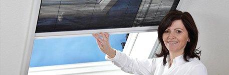 Fliegengitter für Dachfenster  Auch im...