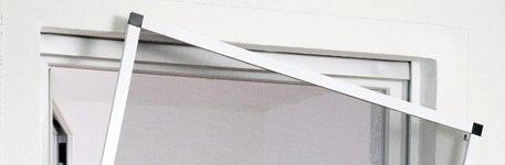Fliegengitter für Fenster mit Alurahmen...