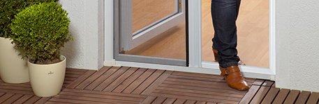 Insektenschutzrollo für Türen  Unsere...