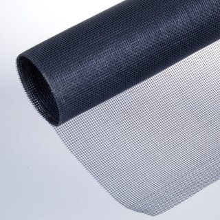 Ersatzrolle Fiberglasgewebe für Fenster 140 x 150 cm schwarz