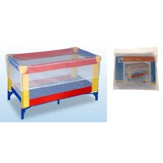 Moskitonetz für Kinderbett / Laufstall - Fliegengitter Insektenschutz