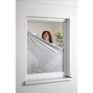 Sonnenschutz Fliegengitter für Fenster 130 x 150 cm
