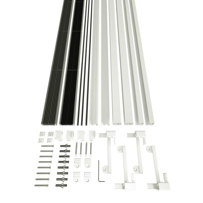 kombi dachfenster plissee sonnenschutz fliegengitter f uu. Black Bedroom Furniture Sets. Home Design Ideas