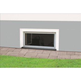 Nagerschutzfenster Master Slim - Kellerschutzfenster Fliegengitter für Keller 100 x 60 cm