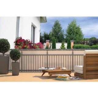 Balkon Sichtschutz - Sichtschutzplane für Balkon Geländer
