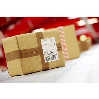 Paketschein für Rückversand aus AT & BeNeLux