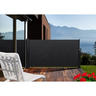 Seitenmarkise Basic - Sichtschutz für die Terrasse - Windschutz Blickschutz